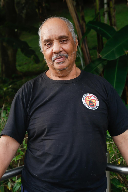 Sr. Renato dos Prazeres |  Foto: Mila Maluly